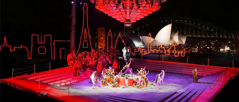 La Traviata from Sydney Harbour